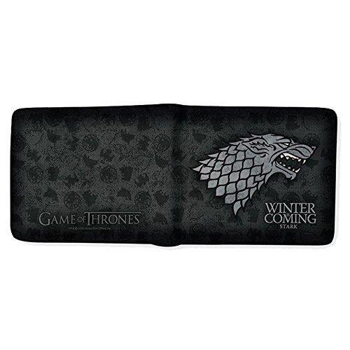 Game Of Thrones Juego de Tronos abybag166casa de Stark Winter Is Coming Billetera