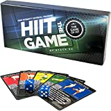 Stack 52 HIIT Interval Workout Game. Designed by Military Fitness Expert. Video Instructions Included. Bodyweight Exercises, No Equipment Needed. Fun and Motivating Training Program.