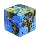 ★ Il cubo magico è anche un giocattolo interessante per alleviare la pressione del lavoro e della vita degli adulti. Esistono vari tipi di cubi magici nel mondo, e si sviluppa anche in molti tipi di giochi, come giochi veloci e ciechi. ★ Realizzato c...