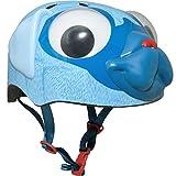 Bell Raskullz Pugsley Pug Blue Helmet with Googly Eyes, Multi (8052012)