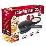 Kitchen Pro - Crêpière électrique sans Fil diamètre 20 cm avec revêtement...