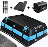 Taygeer Rooftop Cargo Carrier, 21 Cubic Feet Soft-Shell Waterproof Roof Top Luggage Carrier Roofbag...