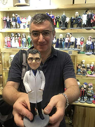 Fully Custom Doctor Bobblehead Figurine Personalized Gifts...