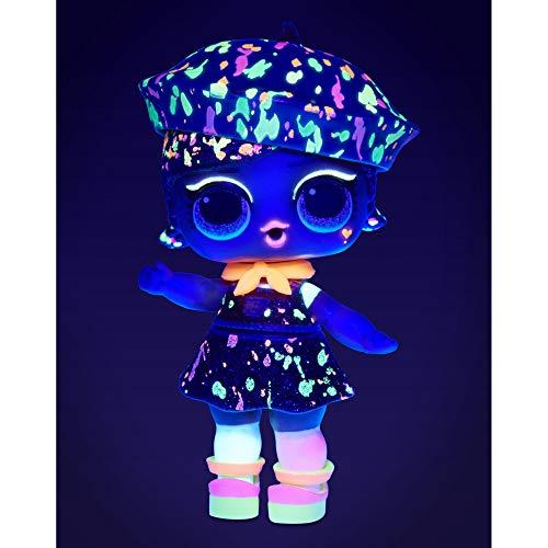 Image 1 - LOL Surprise Poupées de mode à collectionner - Avec 8 surprises, Modes & Accessoires - révélation de lumière noire comprise- Poupée Pailletée Lights