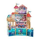 KidKraft Disney Ariel Undersea Kingdom Dollhouse with Ez Kraft Assembly