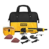 DEWALT Oscillating Tool Kit, Corded, 3-Amp, 29 Pieces (DWE315K)
