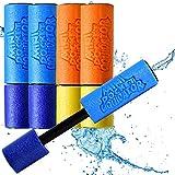 5X Wasserspritzpistole Schaumstoff | DAS ORIGINAL - MAX Liquidator© Mini Eliminator Wasserkanone in Premium Qualität| Spritzpistole Watergun Pool Kanone für Kinder | Spielspaß im Sommer garantiert