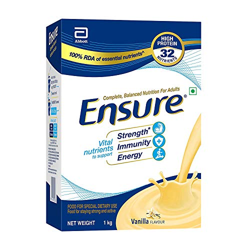 """Ensure Complete, Balanced Nutrition Drink For Adults With Nutri€"""" Strength Complex (Vanilla..."""