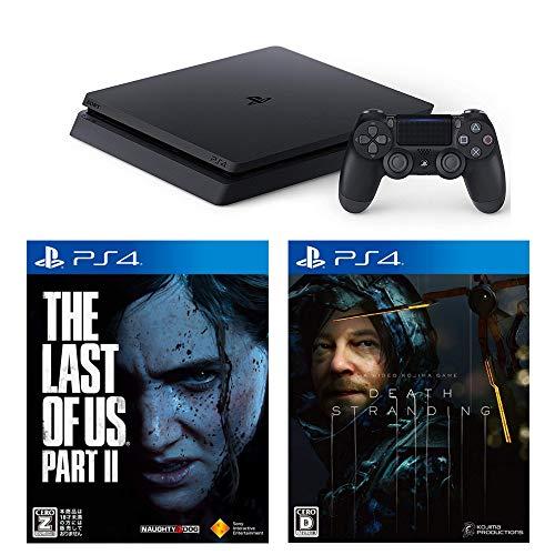 PlayStation 4 + DEATH STRANDING + The Last of Us Part II セット 【CEROレーティング「Z」】
