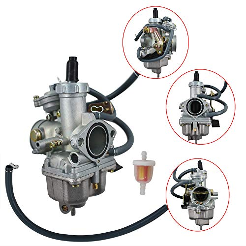 Autoparts New Carb for Honda TRX 250 TRX250 Recon Carburetor 1997-2001 TRX250TE TRX250TM