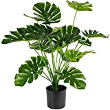 Artificial Palm Tree, 28' Large Fake Plants in Pot for Indoor and Outdoor Home Office Decor