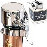 Bouchon à Champagne Kloveo - Accessoire à Bouteille WAF Universel en Acier...