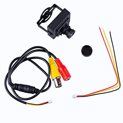 TOOGOO HD 700TVL 1/3' CMOS PAL 6 millimetri MTV consiglio Lens Mini CCTV Video FPV Telecamera