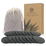 Cotons Demaquillants Lavables 20 Pcs, Luxureal Tampons Démaquillants Reutilisables en Bio Bamboo...