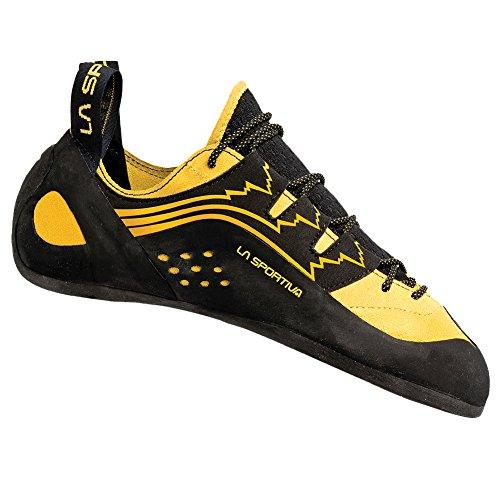 La Sportiva Unisex Katana Lace Climbing Shoe, Yellow, 44.5 M...