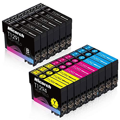 Hicorch Cartuccia T1295 Multipack Compatibile con Cartucce Epson T1291 T1292 T1293 T1294 per Epson...