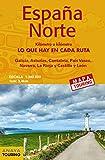 Mapa de carreteras 1:340.000 - España Norte (desplegable) (Mapa Touring)