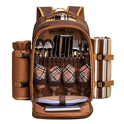 apollo walker Picnic Backpack Bag for 4...