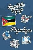 Carnet de Voyage Mozambique: Journal de Voyage | 106 pages, 15,24 cm x...