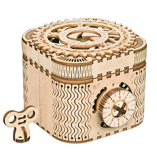 RoWood 3D Puzzles for Adults, Wooden Mechanical Gear Kits...