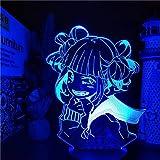 Luz de noche LED creativa Acrílico Animación 3D Lámpara de lava Lámpara de mesa creativa Regalo de Navidad