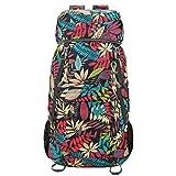 Luisport 40L Foldable Backpack, Waterproof Packable Hiking Backpack Durable Hike Backpack Comping Backpack Comp Backpack Travel Backpack for Men and Women (A3-40L Black)