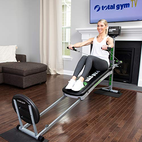 Total Gym APEX G5 Versatile Indoor Home Workout Total Body Strength Training Fitness Equipment with 10 Levels of Resistance and Attachments 2