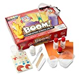 hand2mind BOOM! Combustion Chemistry Lab Kit For Kids Ages 8-12, 25 Science Experiments And Fact-Filled Guide, Make Rockets And Explosions, Homeschool Science Kits, Educational Toys