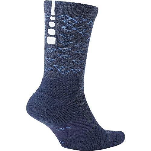 Nike Kyrie u NK ELT Quick CrewCalzini, Unisex Adulto, Multicolore (Multi-Color/LT Racer Blue/White)