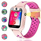 Vannico Montre GPS Enfant, Montre Enfants Garcon Voice Chat SOS Camera...