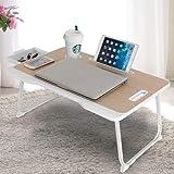 Astory Bureau pour ordinateur portable avec tiroir, plateau pour ordinateur...