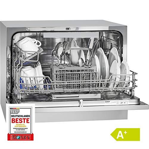 Bomann TSG 708 lavastoviglie Libera installazione 6 coperti A+