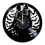 Joker Batman Vinyl Record Wall Clock Gift for Fans Great Idea Home Decor DC Comics Vintage Decoration Buy Gift for Everybody