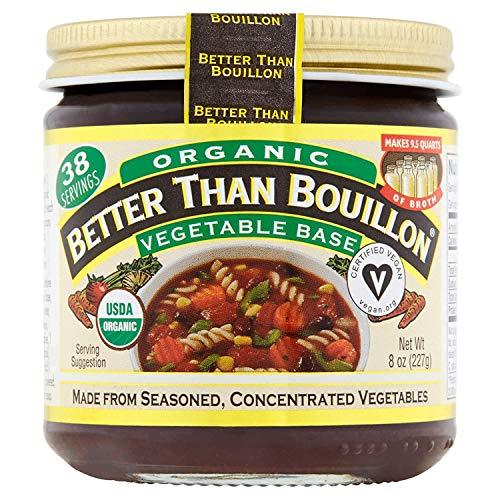 Better Than Bouillon Organic Vegetable Base, Vegan, 8 Ounce