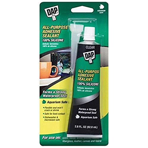 Dap All-Purpose Adhesive Sealant, 100% Silicone