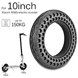 Sunsbell Solid Scooter Tire Replacement 10 Inches Honeycomb Electric Scooter Front Rear Tires Replacement for Xiaomi Mijia M365
