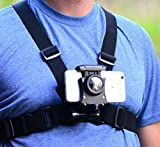 Pixlplay – Smartphone Chest Mount - Universal Holder Compatible with iPhone and Samsung Phone Mount for Filming or Photos