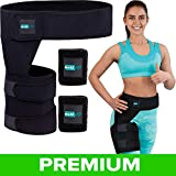 Hip Brace for Women and Men - Designed in USA - Compression Support for Sciatica Pain Relief Thigh Hamstring...