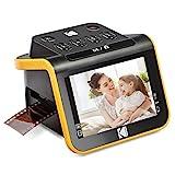 "KODAK Slide N SCAN Film and Slide Scanner with Large 5"" LCD Screen, Convert Color & B&W Negatives..."