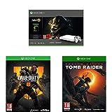 Comprend une console Xbox One X (lecteur Blu-Ray 4K Ultra HD, streaming et jeux en 4K et la technologie High Dynamic Range), le jeu Fallout 76 ainsi qu'un mois d'essai au Xbox Live Gold et 1 mois d'essai au Xbox Game Pass La Xbox One X est 40% plus p...