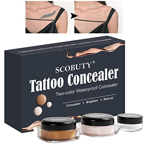 Concealer,Corrector de tatuaje,Cicatriz Profesional Tatuaje