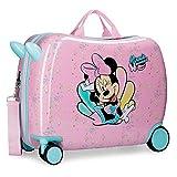 Disney Minnie Mermaid Maleta Infantil Rosa 50x38x20 cms Rígida Poliéster Cierre combinación 34L 2,1Kgs 4 Ruedas Equipaje de Mano