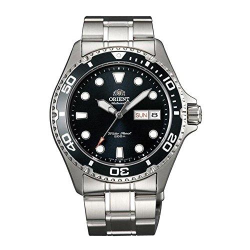 ORIENT Herren-Armbanduhr 44.25MM Armband Edelstahl AUTOMATIK ANALOG FAA02004B9