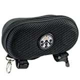 Abco Tech Portable Water Resistant Wireless FM Radio Bluetooth Speaker with Hands-Free Speakerphone and Storage, Black