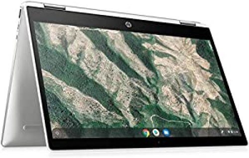 HP 2-in-1 Convertible Chromebook, 14inch HD Touchscreen, Intel Quad-Core Pentium Silver N5030 Processor Up to 3.10GHz, 4GB Ram, 128GB SSD, Intel UHD Graphics, Webcam, Chrome OS(Renewed (14inch/128GB)<br><br>                         <strong>Price</strong>: $315.99  <strong>Rating</strong>: 4.6    <strong>Review</strong>: 243<br>