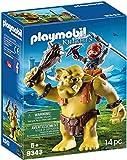 Playmobil - Troll Géant et Soldat Nain - 9343