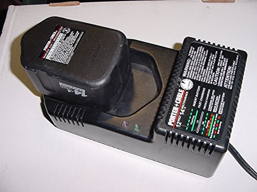 PORTER-CABLE 8604 12-Volt and 14.4-Volt Slide Style 1 Hour Battery Charger