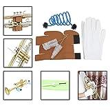 Asdomo Kit de nettoyage 3 en 1 pour trompette, trompette, trombone, tuba,...