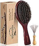 Boar Bristle Hair Brush Men...