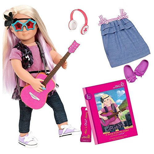 Our Generation Deluxe Doll - Layla & 'A Song From My Heart'